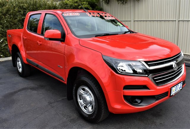 Demo Holden Colorado RG MY19 LS Pickup Crew Cab, 2019 Holden Colorado RG MY19 LS Pickup Crew Cab Absolute Red 6 Speed Sports Automatic Utility