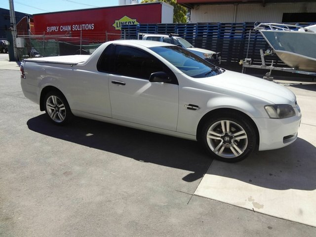 Used Holden Commodore VE Omega, 2007 Holden Commodore VE Omega White 4 Speed Automatic Utility