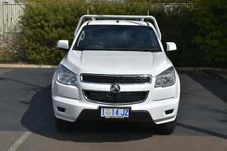 2016 Holden Colorado RG MY16 LS Summit White 6 Speed Manual Cab Chassis.
