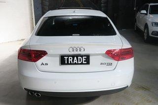 2014 Audi A5 8T MY15 (N5) Sportback S Tronic Quattro White 7 Speed Sports Automatic Dual Clutch