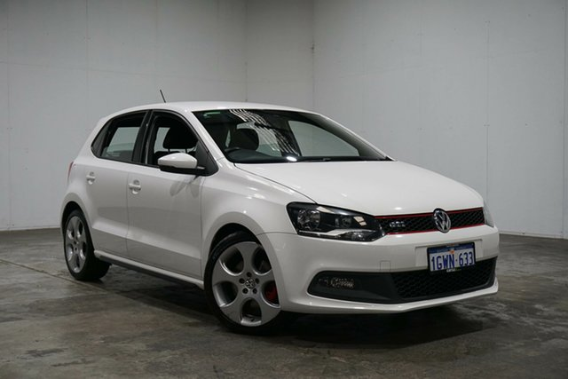 Used Volkswagen Polo 6R MY13 GTI DSG, 2012 Volkswagen Polo 6R MY13 GTI DSG White 7 Speed Sports Automatic Dual Clutch Hatchback