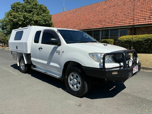 Used Toyota Hilux KUN26R SR, 2008 Toyota Hilux KUN26R SR White 5 Speed Manual Extracab