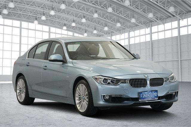 Used BMW 3 Series F30 MY0812 , 2012 BMW 3 Series F30 MY0812 Blue 8 Speed Sports Automatic Sedan