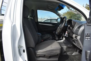 2016 Holden Colorado RG MY16 LS Summit White 6 Speed Manual Cab Chassis