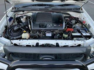 2008 Toyota Hilux KUN26R SR White 5 Speed Manual Extracab