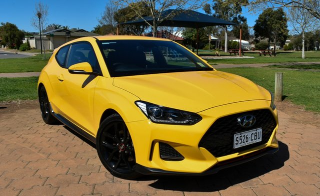 Demo Hyundai Veloster JS MY20 Turbo Coupe D-CT, 2019 Hyundai Veloster JS MY20 Turbo Coupe D-CT Thunder Bolt 7 Speed Sports Automatic Dual Clutch