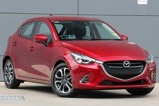 2019 Mazda 2 DJ2HAA Genki SKYACTIV-Drive Soul Red Crystal 6 Speed Sports Automatic Hatchback.