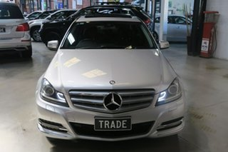 2011 Mercedes-Benz C-Class W204 MY11 C250 CDI BlueEFFICIENCY 7G-TRONIC Elegance Silver 7 Speed