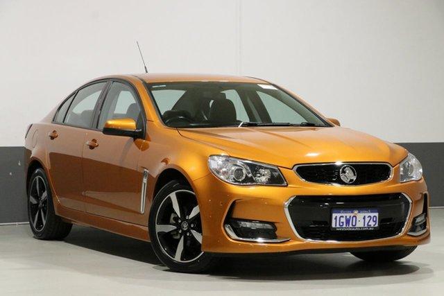 Used Holden Commodore VF II MY17 SV6, 2017 Holden Commodore VF II MY17 SV6 Orange 6 Speed Automatic Sedan