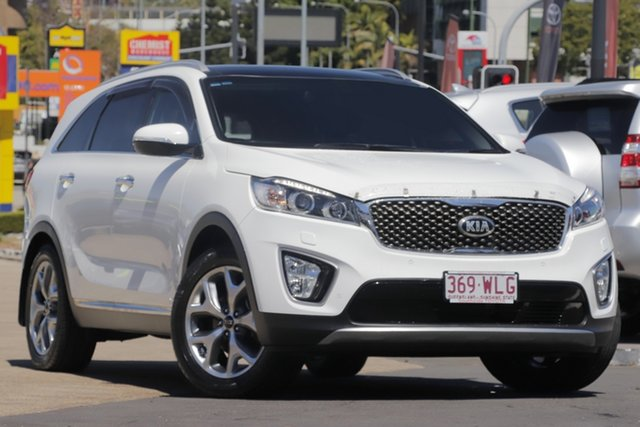Used Kia Sorento UM MY16 Platinum AWD, 2015 Kia Sorento UM MY16 Platinum AWD White 6 Speed Sports Automatic Wagon