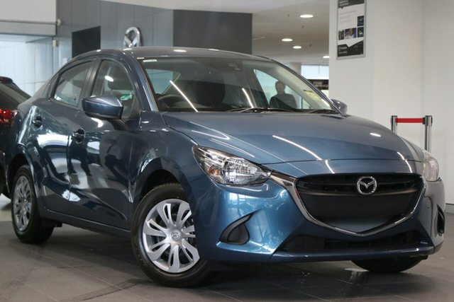 New Mazda 2 DL2SAA Neo SKYACTIV-Drive, 2019 Mazda 2 DL2SAA Neo SKYACTIV-Drive Eternal Blue 6 Speed Sports Automatic Sedan