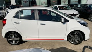 2019 Kia Picanto JA MY19 GT-Line Clear White 4 Speed Automatic Hatchback
