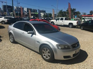 2010 Holden Commodore VE11 Omega Silver Automatic Sedan.