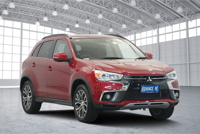 Used Mitsubishi ASX XC MY19 LS 2WD, 2018 Mitsubishi ASX XC MY19 LS 2WD Red 6 Speed Constant Variable Wagon