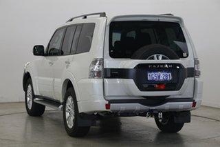 2018 Mitsubishi Pajero NX MY18 GLS Warm White 5 Speed Sports Automatic Wagon
