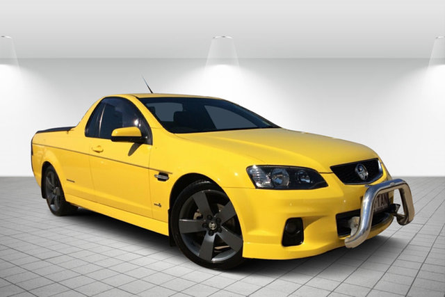 Used Holden Ute VE II SV6 Thunder, 2012 Holden Ute VE II SV6 Thunder Yellow 6 Speed Manual Utility