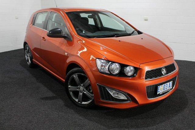 Used Holden Barina TM MY14 RS, 2014 Holden Barina TM MY14 RS Orange Rock 6 Speed Manual Hatchback