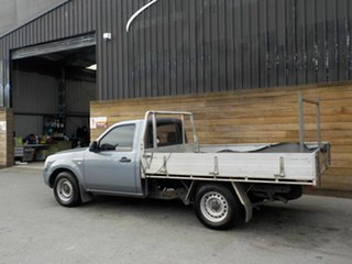 2008 Ford Ranger PJ XL 4x2 Grey 5 Speed Manual Cab Chassis