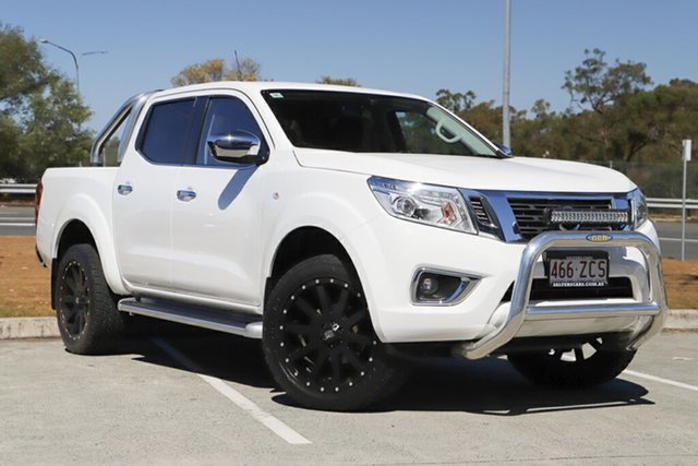 Used Nissan Navara D23 S3 ST, 2017 Nissan Navara D23 S3 ST White 7 Speed Sports Automatic Utility