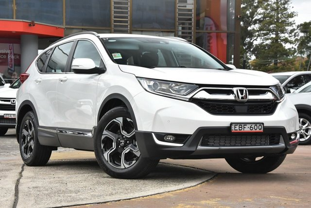 Demo Honda CR-V RW MY19 VTi-S 4WD, 2019 Honda CR-V RW MY19 VTi-S 4WD White Orchid 1 Speed Constant Variable Wagon