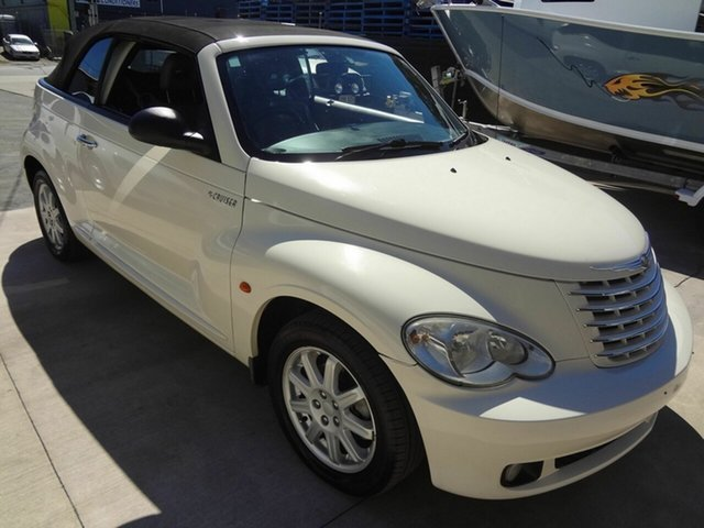 Used Chrysler PT Cruiser MY06 Touring, 2006 Chrysler PT Cruiser MY06 Touring Cream 5 Speed Manual Cabriolet