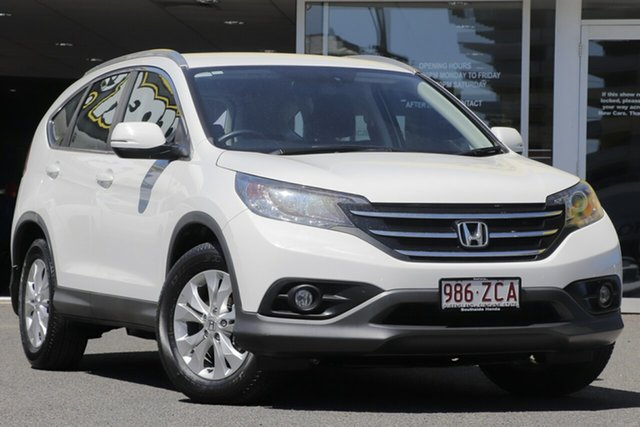 Used Honda CR-V RM VTi-S 4WD, 2013 Honda CR-V RM VTi-S 4WD White 5 Speed Automatic Wagon