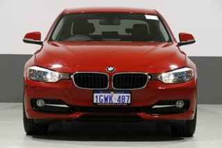 2013 BMW 320d F30 Sport Line Red 8 Speed Automatic Sedan.