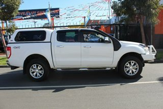 2013 Ford Ranger PX XLT 3.2 (4x4) White 6 Speed Manual Dual Cab Utility