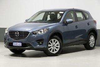 2015 Mazda CX-5 MY13 Upgrade Maxx Sport (4x4) Blue 6 Speed Automatic Wagon.