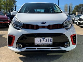 2019 Kia Picanto JA MY19 GT-Line Clear White 4 Speed Automatic Hatchback.