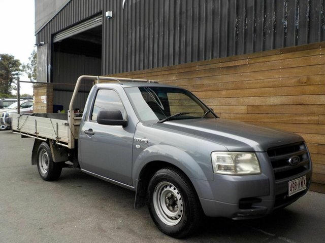 Used Ford Ranger PJ XL 4x2, 2008 Ford Ranger PJ XL 4x2 Grey 5 Speed Manual Cab Chassis