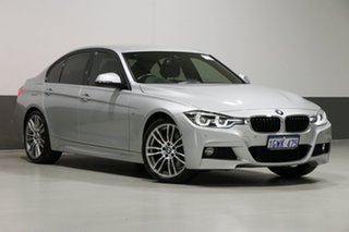 2018 BMW 330i F30 LCI M Sport Silver 8 Speed Automatic Sedan.