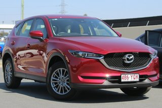 2018 Mazda CX-5 KF2W76 Maxx SKYACTIV-MT FWD Red 6 Speed Manual Wagon.