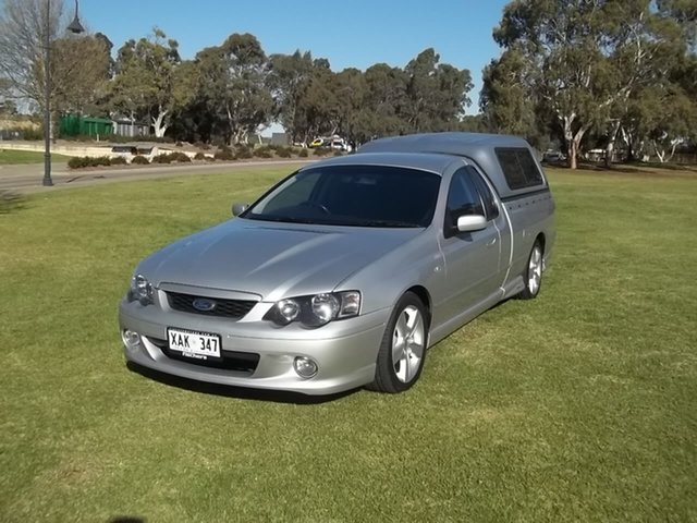 Used Ford Falcon BA XR8 Ute Super Cab, 2004 Ford Falcon BA XR8 Ute Super Cab Silver 4 Speed Sports Automatic Utility