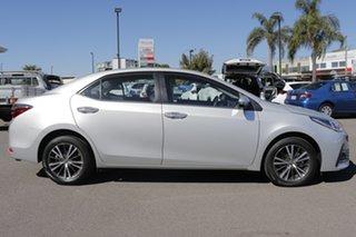 2018 Toyota Corolla ZRE172R ZR S-CVT Silver Ash 7 Speed Constant Variable Sedan.