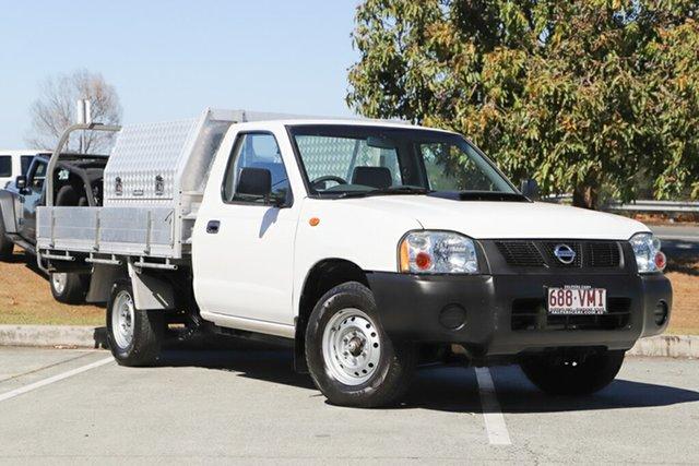 Used Nissan Navara D22 S5 DX 4x2, 2013 Nissan Navara D22 S5 DX 4x2 White 5 Speed Manual Cab Chassis