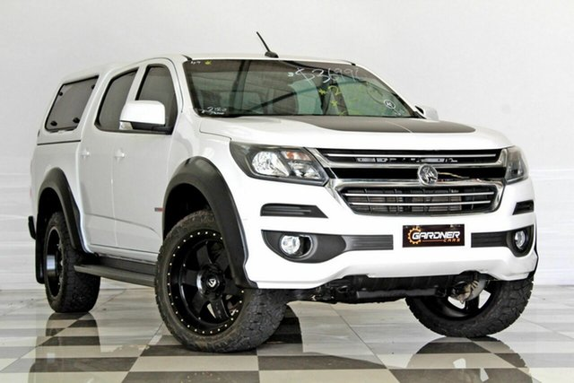 Used Holden Colorado RG MY17 LT (4x2), 2016 Holden Colorado RG MY17 LT (4x2) White 6 Speed Automatic Crew Cab Pickup