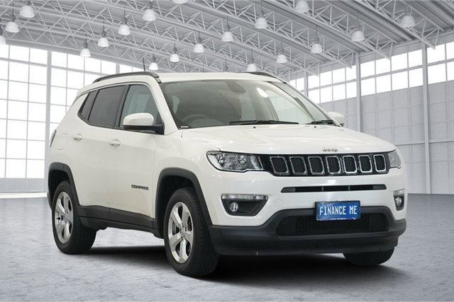 Used Jeep Compass M6 MY18 Longitude FWD, 2018 Jeep Compass M6 MY18 Longitude FWD Vocal White 6 Speed Automatic Wagon