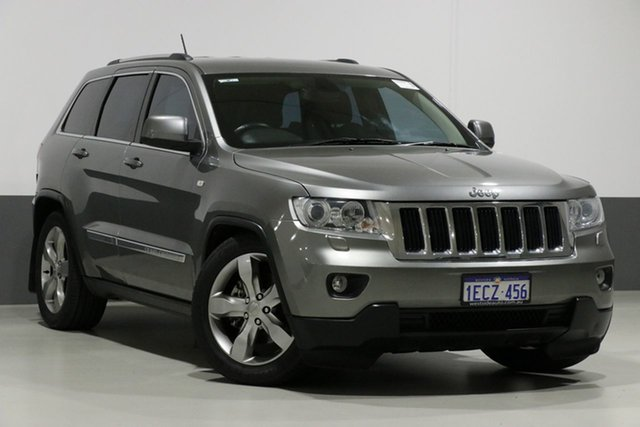 Used Jeep Grand Cherokee WK MY13 Laredo (4x4), 2013 Jeep Grand Cherokee WK MY13 Laredo (4x4) Grey 5 Speed Automatic Wagon