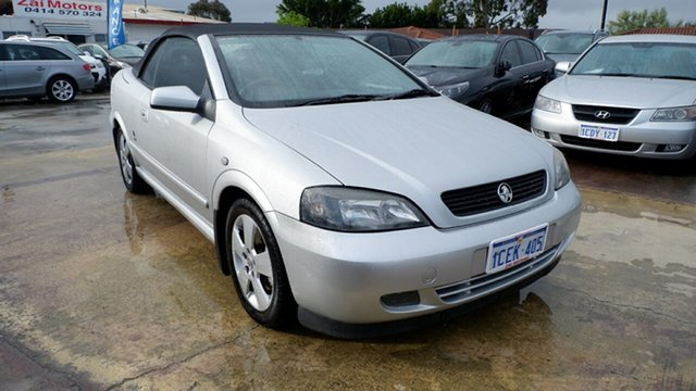 Used Holden Astra TS MY06 , 2006 Holden Astra TS MY06 Silver 5 Speed Manual Convertible