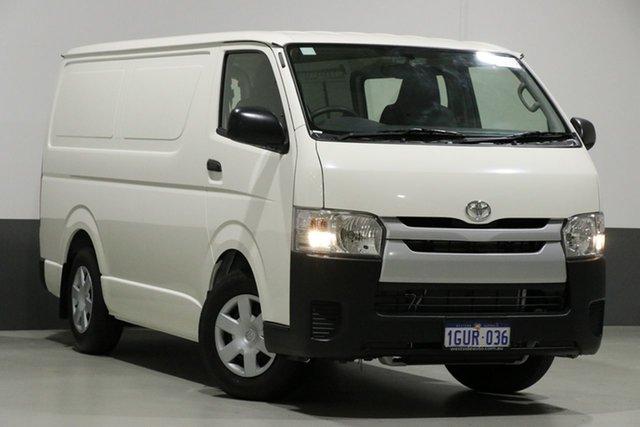 Used Toyota HiAce KDH201R MY16 LWB, 2019 Toyota HiAce KDH201R MY16 LWB White 4 Speed Automatic Van