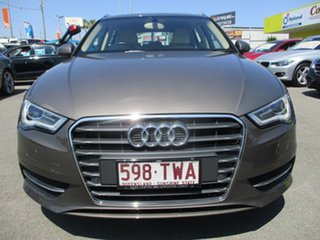 2014 Audi A3 8V Attraction Sportback S Tronic Brown 7 Speed Sports Automatic Dual Clutch Hatchback