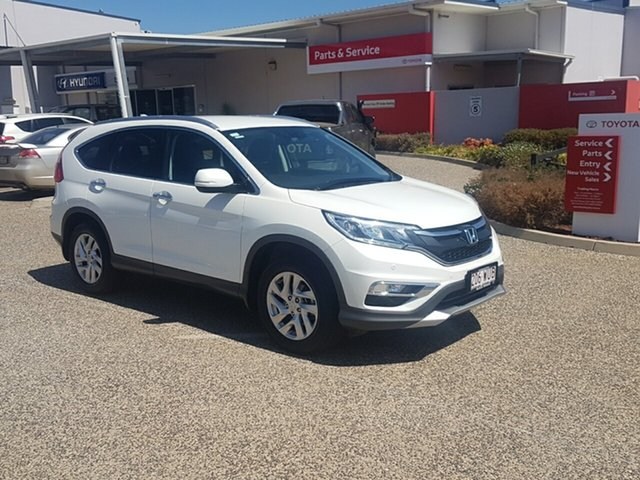 Used Honda CR-V 30 Series 2 VTi-S (4x4), 2016 Honda CR-V 30 Series 2 VTi-S (4x4) White 5 Speed Automatic Wagon