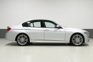 2018 BMW 330i F30 LCI MY18 M Sport Silver 8 Speed Automatic Sedan