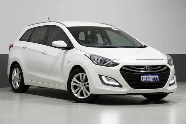 Used Hyundai i30 GD Tourer Active 1.6 GDi, 2013 Hyundai i30 GD Tourer Active 1.6 GDi White 6 Speed Automatic Wagon