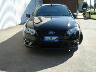 2011 Ford Falcon FG XR6 Ute Super Cab Limited Edition Silhouette 6 Speed Sports Automatic Utility.