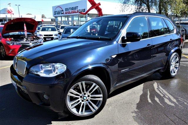 Used BMW X5 E70 MY1112 xDrive40d Steptronic Sport, 2013 BMW X5 E70 MY1112 xDrive40d Steptronic Sport Black 8 Speed Sports Automatic Wagon