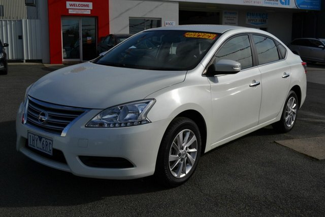Used Nissan Pulsar B17 Series 2 ST, 2016 Nissan Pulsar B17 Series 2 ST White Continuous Variable Sedan