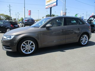 2014 Audi A3 8V Attraction Sportback S Tronic Brown 7 Speed Sports Automatic Dual Clutch Hatchback.