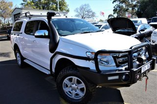2011 Ford Ranger PX XLT Double Cab White 6 Speed Sports Automatic Utility.